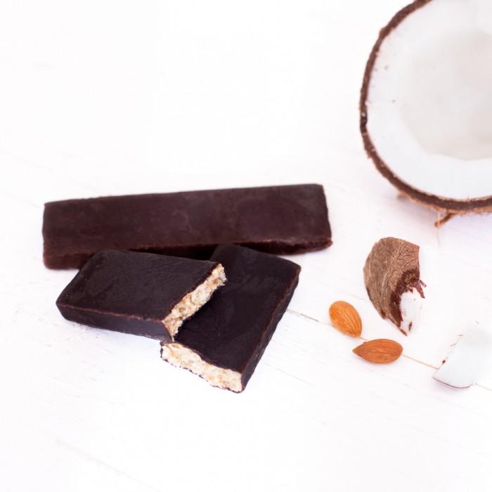 GRAB «ВЕРШКОВИЙ КОКОС», кокосово-горіховий батончик в шоколаді, 40г