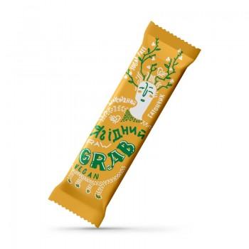GRAB «ЯГІДНИЙ», фруктово-горіховий батончик в шоколаді, 40г