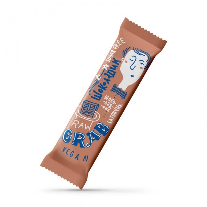 GRAB «ШОКОЛАДИК», фруктово-горіховий батончик в шоколаді, 40г