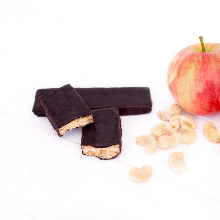 GRAB «ГОРІХОВИЙ ПЛОМБІР», фруктово-горіховий батончик в шоколаді, 40г