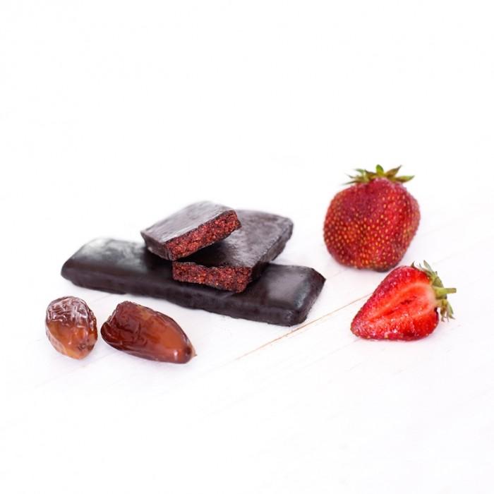 GRAB «ПОЛУНИЧКА», фруктово-горіховий батончик в шоколаді, 40г