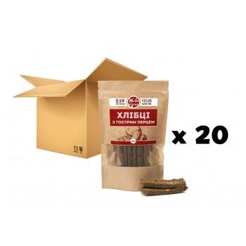 МАСТЕРБОКС (20 шт) Хлібці «З гострим перцем», 100 г